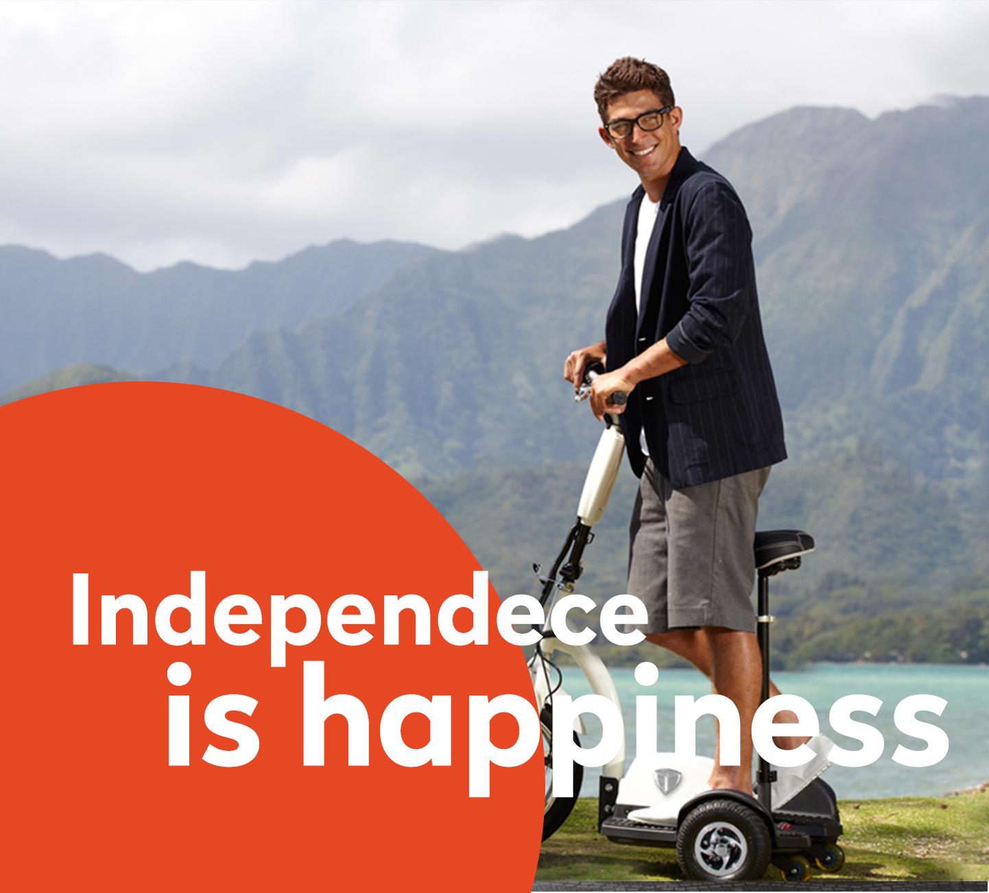Independece is happiness