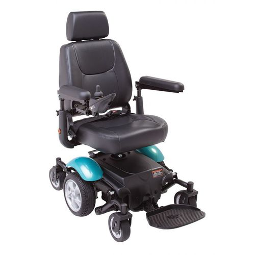 Mid-wheel powerchairs